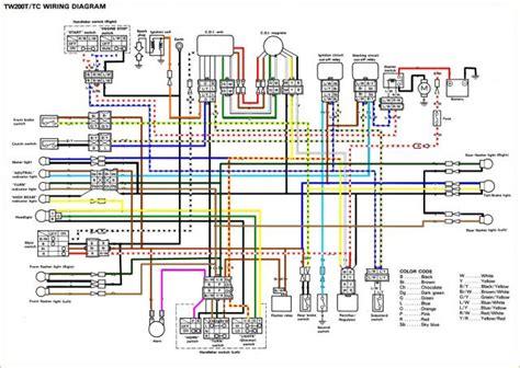 yamaha zuma wiring diagram yamaha zuma maintenance