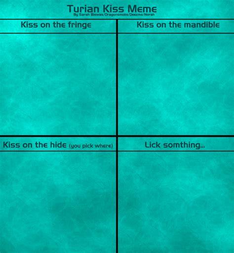 Kiss Meme Blank - turian kiss meme blank by deezmo on deviantart