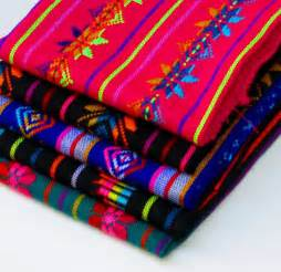 Pink Table Linens - aztec fabric mexican pattern fabric colorful tribal fabric