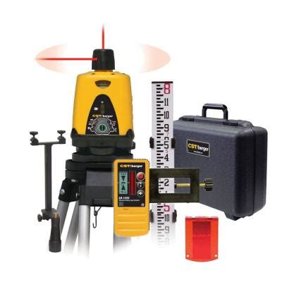 cst berger 800 ft dual beam rotary laser level 57 lm30pkg