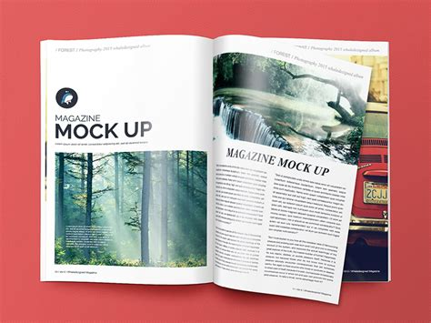 25  Free Psd Magazine Cover Page Designs Templates   Free