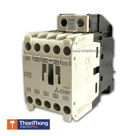 mitsubishi แมคเนต ค magnetic contactors s t12 coil 220v