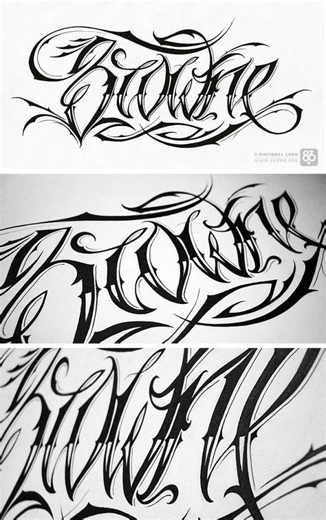 script tattoo designs script design idea photos pictures images