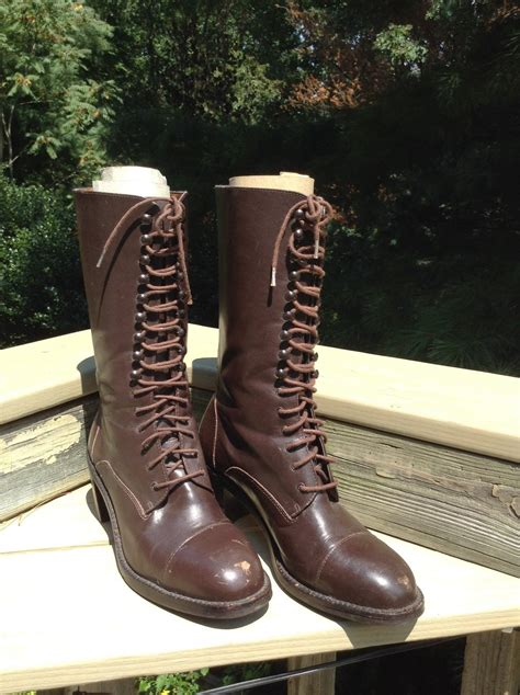 gap boots gap retro boots brown leather