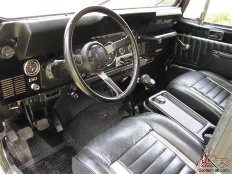 Jeep Interior Paint 1984 jeep laredo black cj7 survivor original paint interior 82k