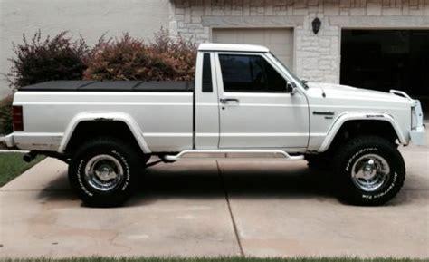 1988 jeep comanche pioneer buy used 1988 jeep comanche pioneer 4 0l stroker 4x4 short