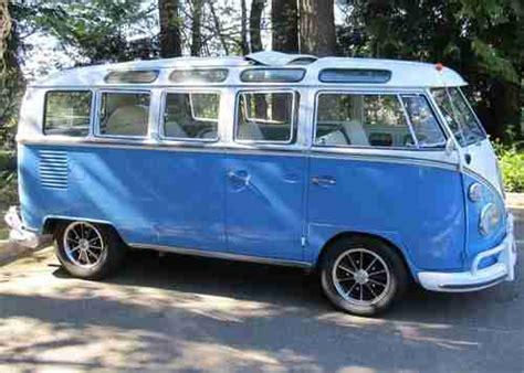 volkswagen minibus cer sell used 1967 vw 21 window deluxe bus walk thru original