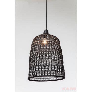 outlet arredamento vescovato 37070 lada a sospensione flower weave nero kare design