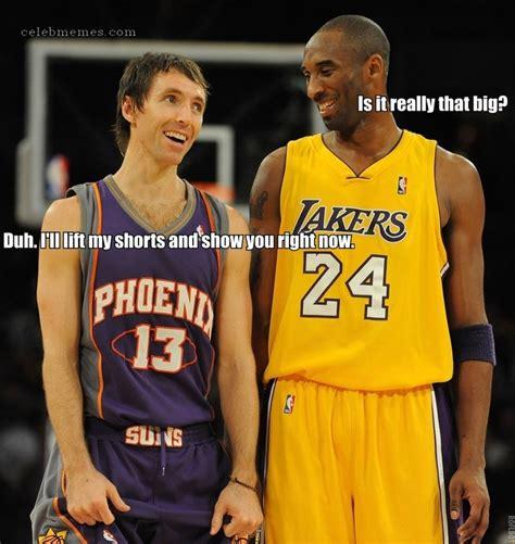 Kobe Bryant Memes - steve nash and kobe bryant meme celebmemes pinterest