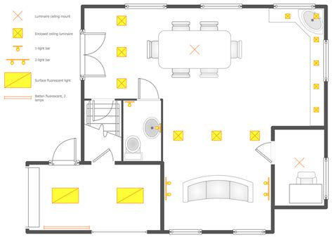 bathroom design templates reflected ceiling plans solution conceptdraw com