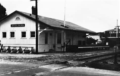 florida memory railroad depot avon park florida