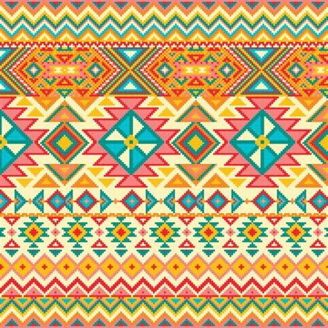fabric pattern design vector fabric texture with geometric pattern vector free download
