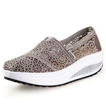Sepatu Wedges Merk Nevada Uk 37 39 ushoes u100517 perempuan fahion baji sepatu kets sepatu