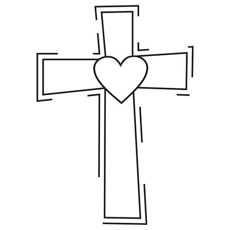 catholic clipart catholic cross clip black and white clipart collection