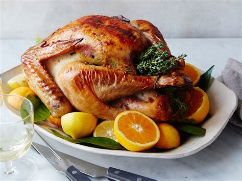 7 Dishes To Try This Thanksgiving by Citrus And Butter Turkey Recipe Justin Chapple Food Wine