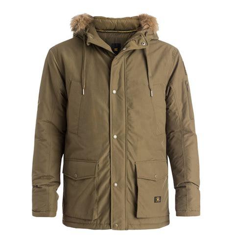 Jacket Parka Dc Army Finger s enderby snorkel parka jacket edyjk03034 dc shoes