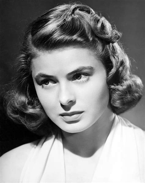pictures of 1915 hairstyles a screen legend ingrid bergman at 100 pictures cbs news