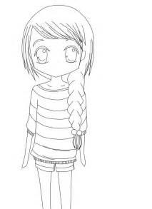 chibi sketch line art by linthemysticcat on deviantart