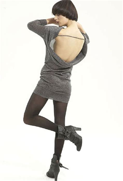 Ve Tunic By Anty S Shop lurex stretch backless tunic dress also in black jersey