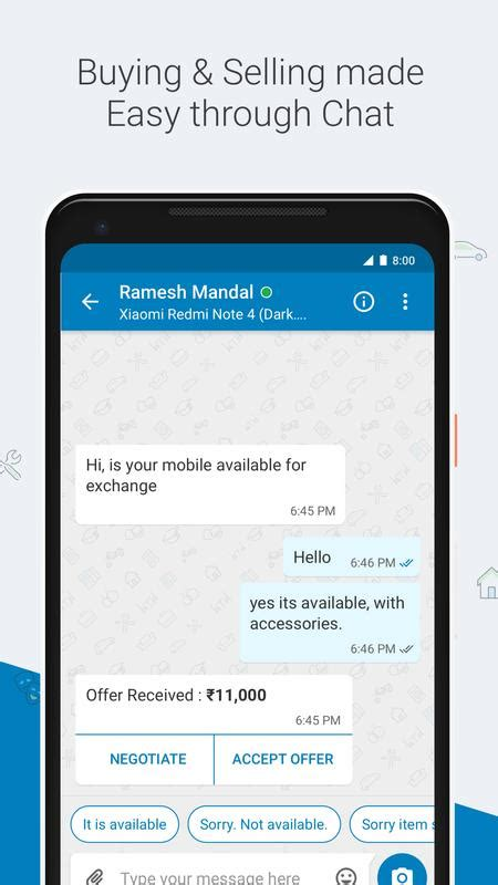 quikr mobile app quikr search mobiles cars home services apk