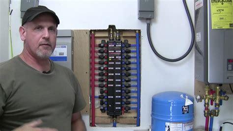 Manabloc Plumbing System by Viega Manabloc Water Distribution Manifold