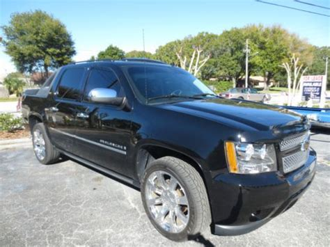 01337 Blings Chevy Avalanche purchase used 2009 chevrolet avalanche ltz crew cab w extended warranty 100k in clearwater