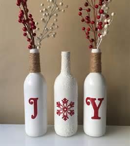 25 unique christmas wine bottles ideas on pinterest
