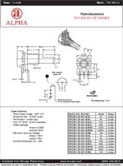 variable resistor b10k datasheet rv120f 20 15f b50k datasheet specifications manufacturer alpha taiwan product