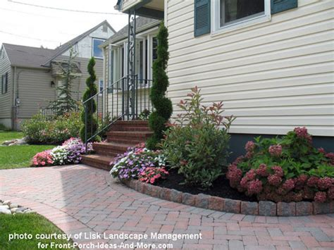 Landscape Ideas Gray House Front Yard Landscape Designs With Before And After Pictures