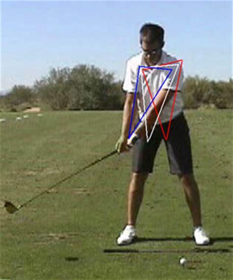 triangle golf swing my daily swing the modern total body golf swing backswing