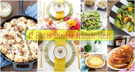 easter sunday service decorations 12 easter sunday brunch ideas pint sized baker