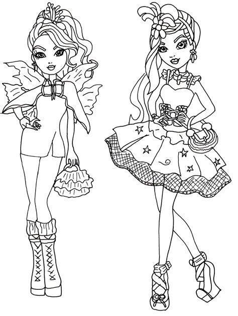 Ever After High Para Colorear Pintar E Imprimir High Colour Pages