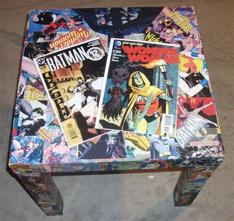 Decoupage Comics - kracalactaka creations comic decoupage