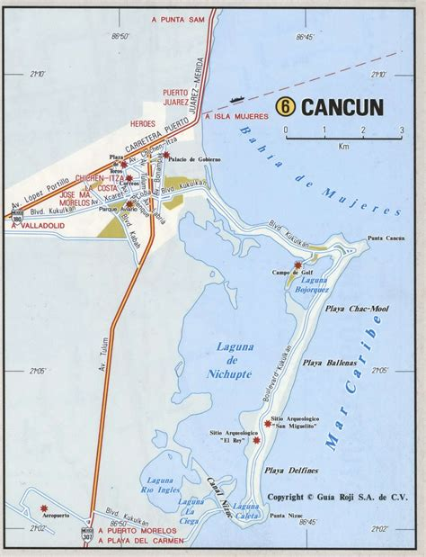map of mexico with cancun cancun city of mexico road mapfree maps of us