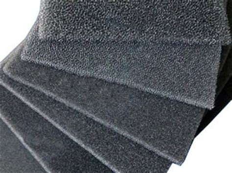 activated carbon foam pu foam and activated carbon