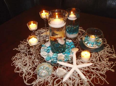 the sea centerpieces wedding centerpieces photos weddingbee photo gallery