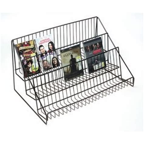 Countertop Wire Display Racks by Black Wire Countertop Display Rack 3 Tier