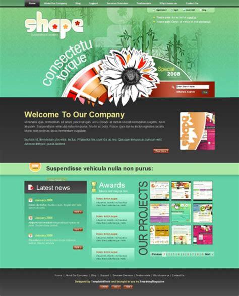 11 Creative Free Photoshop Website Templates Creative Beacon Photoshop Web Templates