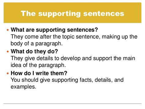 How To Make A Topic Sentence For A Research Paper - language arts with mr mcginty the writing performance