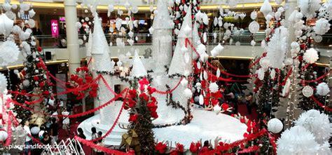 kl shopping malls christmas decorations