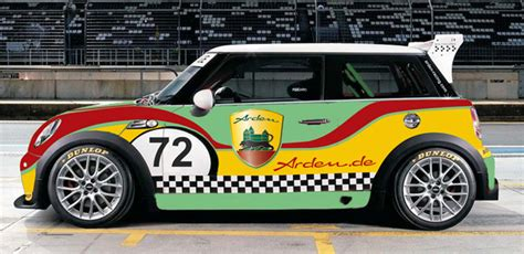 how cars run 2009 mini cooper free book repair manuals arden looks to mini challenge cup race car for new performance kit