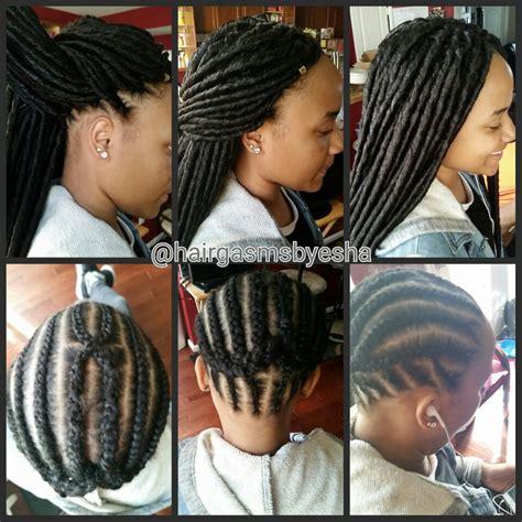 hairstyles for crochet faux locs crochet faux locs braids pinterest faux locs locs