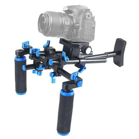 15436 Large Dia Stabilizer Set 17 Mm professional dslr rig standard 15mm diameter shoulder mount rig stabilizer for canon sony nikon