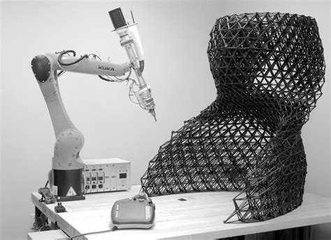 robotic wall system this architect designed wall system has a 3d printed core