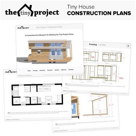 tiny homes on wheels plans free the tiny project modern tiny house plans