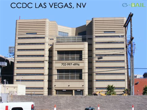 Clark County Nv Court Records Back View Clark County Detention Center Las Vegas Nv