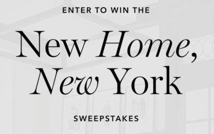 New Home Giveaway - homepolish new home new york giveaway sun sweeps