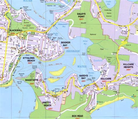 map of nsw central coast central coast ubd map 289 buy map of central coast mapworld