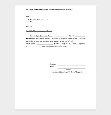 quotation template word samples formats