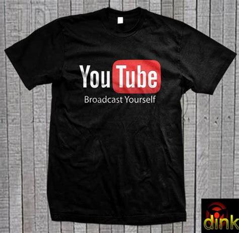 Tshirt Kaos Youtubers dinomarket pasardino kaos you logo channel